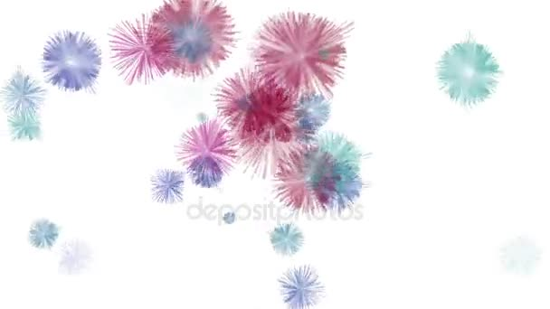 4k Hairy wool balls flower dust background,abstract microbes bacteria plankton.