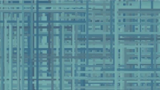 4k abstrakte Seillinien kreuzen den Hintergrund, Gitter Netzwerkfaser, geometrische Kunstnudeln