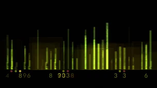 Photo 4k Audio equalizer,music rhythm Volume,speakers waves spectrum,heart-rate,vj.