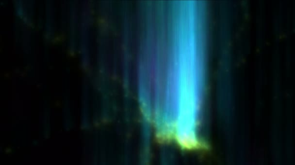 4 k Aurora  északi fények az ég, a gáz, füst részecske tűzijáték, a világegyetem tér.