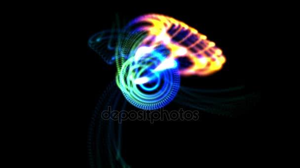 4 k absztrakt ragyogó fénysugár világos háttér, fraktál tűz láng tűzijáték hátteret