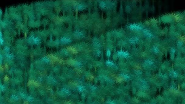 4 k travní plevele keře, které rostliny pastviny, sklizeň svěží listy, bakterie spore mikrob