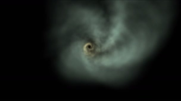 4 k tornáda bouře mlha kanál, hurikány vítr cloud atmosféru, kosmického letu.