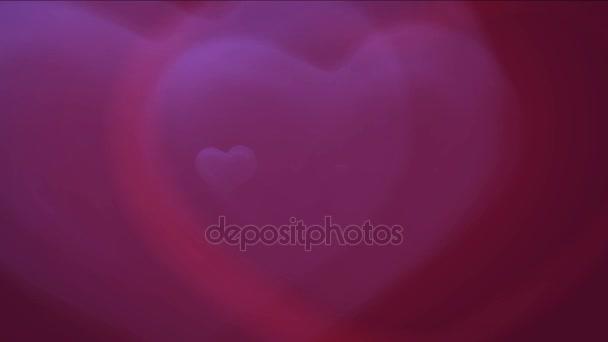 4 k červené láska srdce pozadí, den svatého Valentýna symbol, design vzorek pozadí.