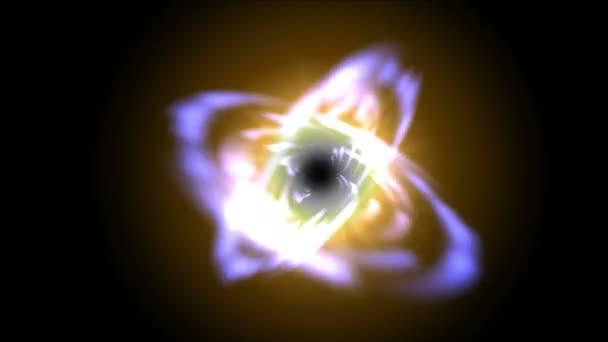 4k absztrakt univerzum csillag virág mintás háttérrel, világos hely, alagutak energia.