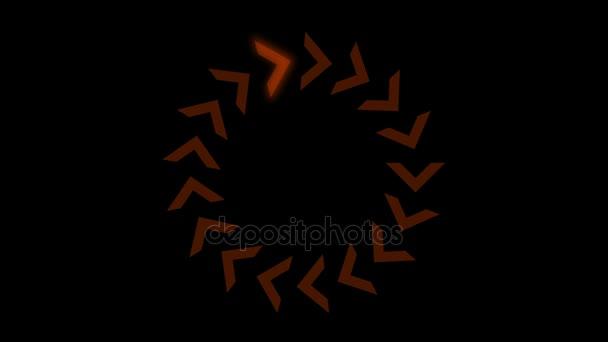 4 k Richtung Pfeil Warteschlange Design Zeichen-Hintergrund, Signal Prozess Kulisse