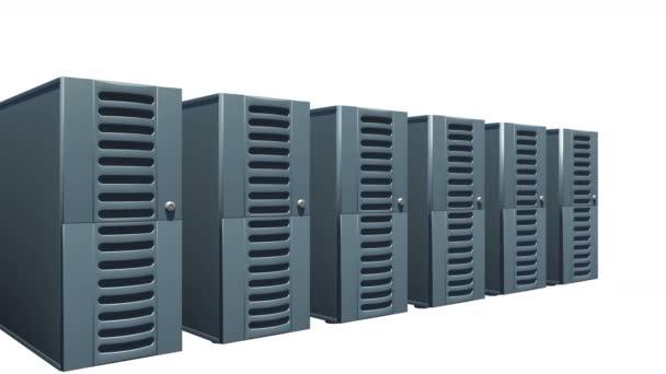 4 k-Reihe von Netzwerk-Servern.