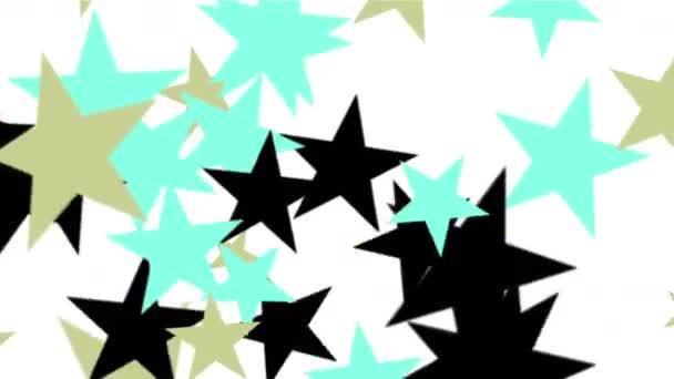 4 k hvězdy částic pozadí, Usa Spojené státy americké vlajky-pěticípá hvězda.
