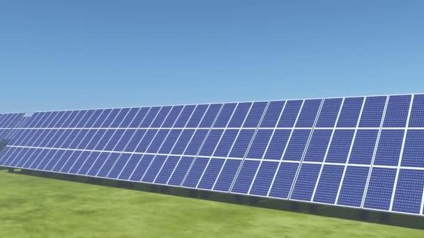 4k Solar panels,green free clear energy.