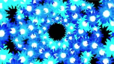 4k Sunflower wreath wedding background,flower plant bloom pattern,life vitality