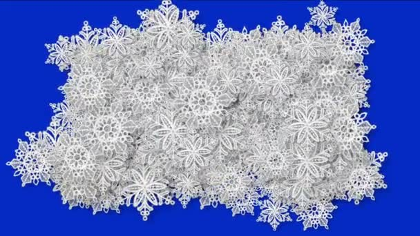 4k Snowflake snow chrismas flower design pattern background.