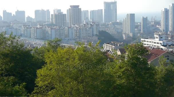 Výhled na panoramatický výhled na městské