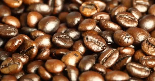 4 k kávová zrna closeup, nápoje kofeinu potravinářská surovina, lahodné pokrmy fazole