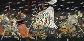 Fényképek Szamuráj csata festmények