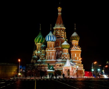 St. Basil Cathedral at Moscow