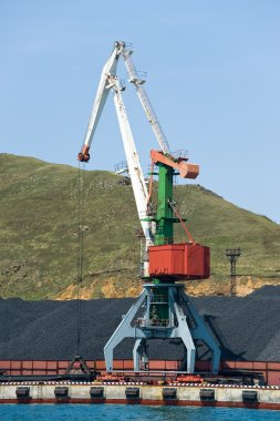 coal terminal at Vladivostok