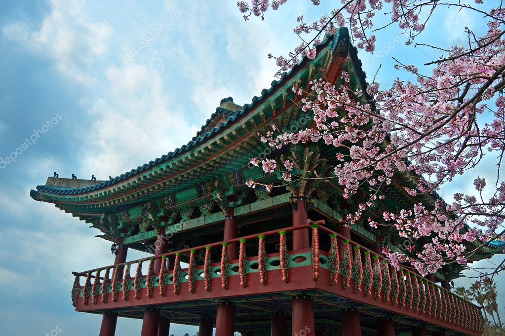 buddhist temple at Jeju Korea