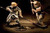 Bojovníci samuraje v rekonstrukci