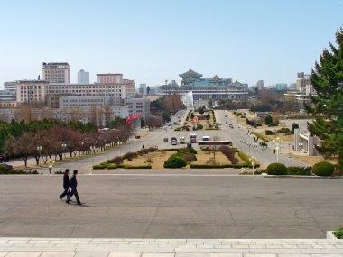Pyongyang - capital of the North Korea