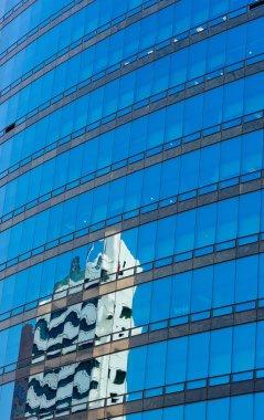 Modern glass skycraper
