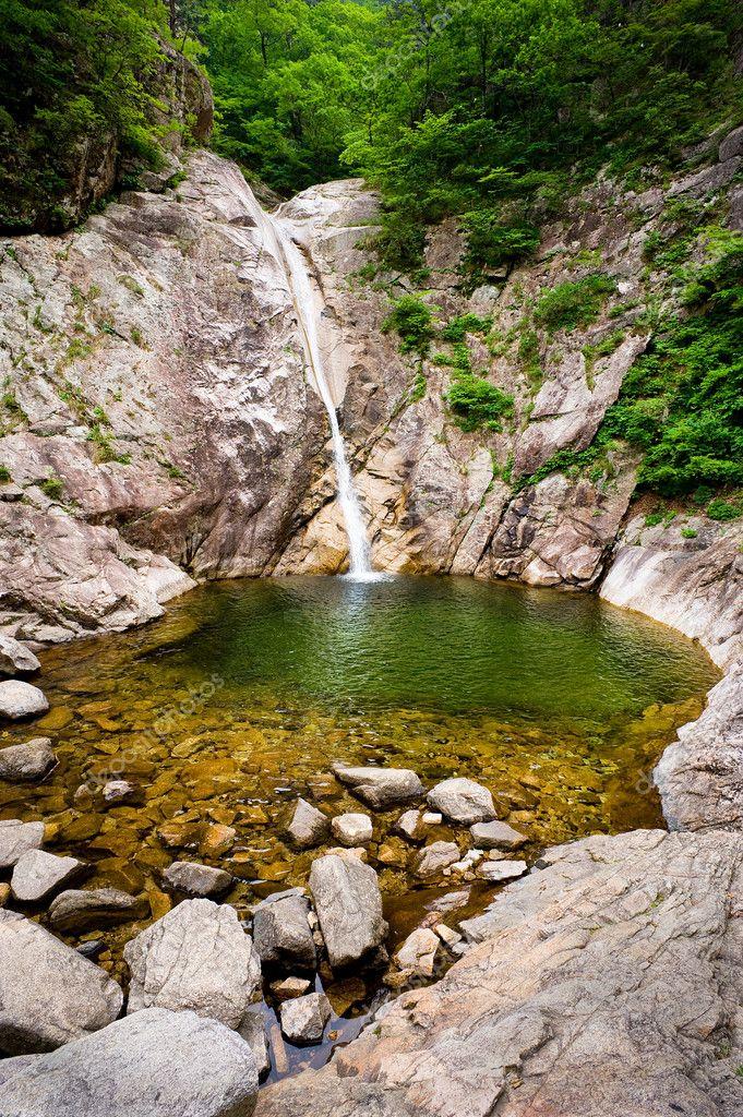 Biryong Waterfall at Seoraksan National Park