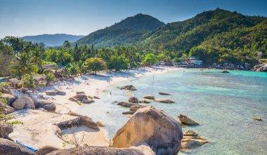 Silver beach, Crystal Beach beach view at Koh Samui Island Thail