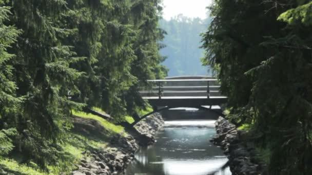 Most přes kanál, Catherine Park, Carskoje Selo, Petrohrad
