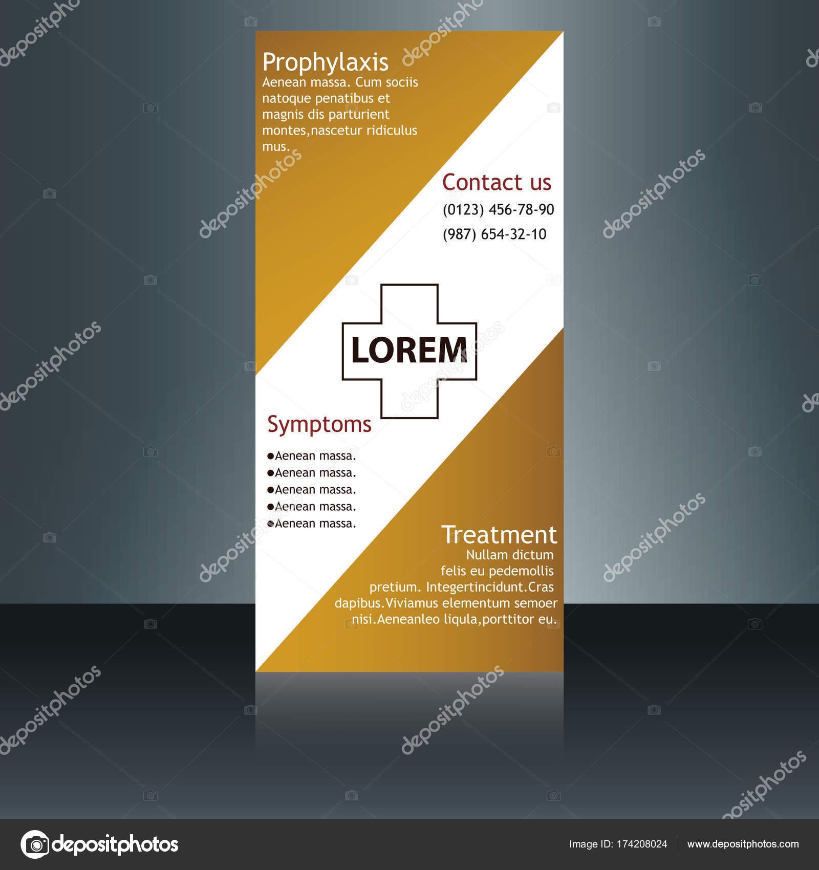 Beste Medizinische Broschüre Vorlage Zeitgenössisch ...