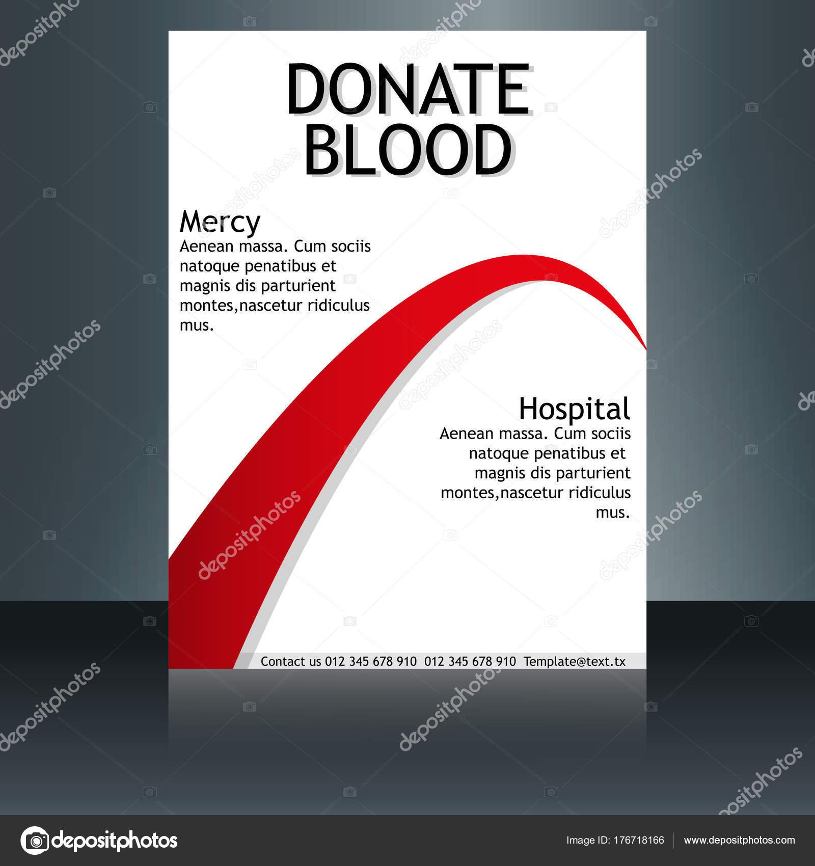 Medizinische Broschüre Cover Vorlage, Flyer Design-Layout. Anwendbar ...