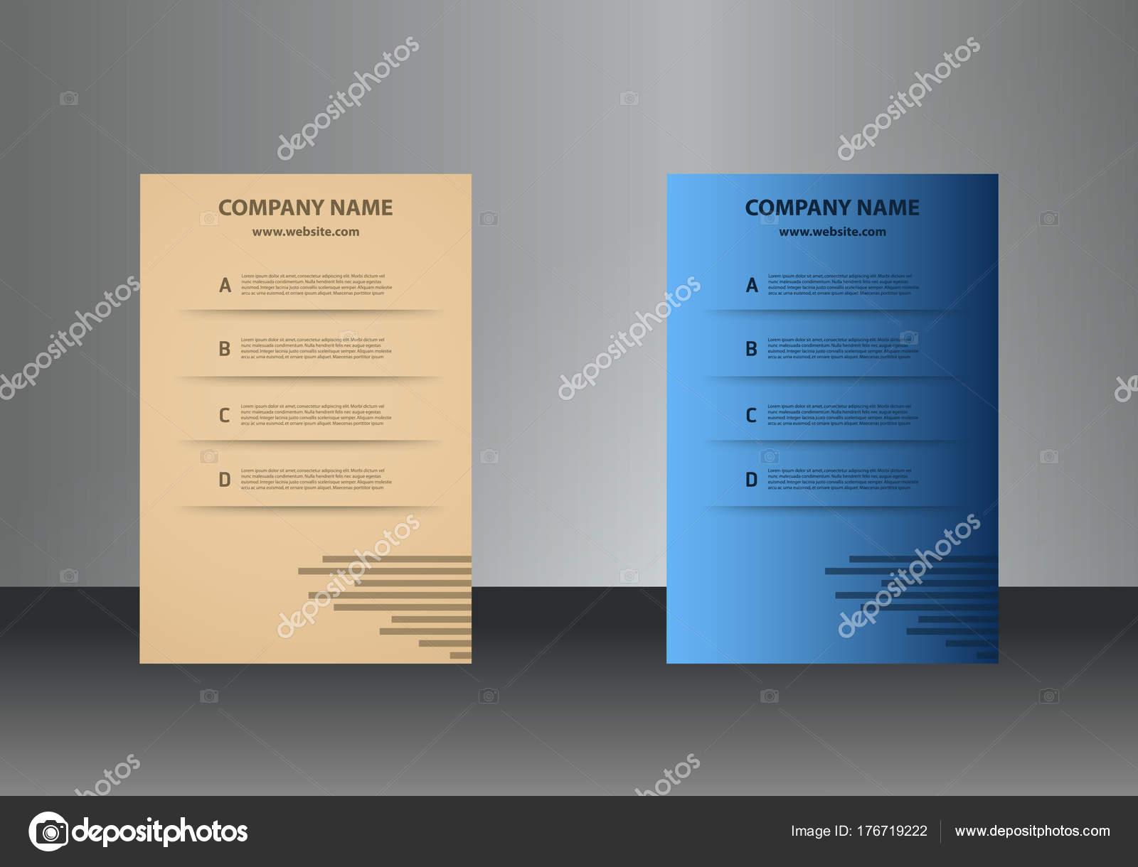 Carte De Visite Verticale Modle Dimpression Personnelle Avec Logo Lentreprise Couleurs Noires Et Jaunes Nettoyer Le Design Plat