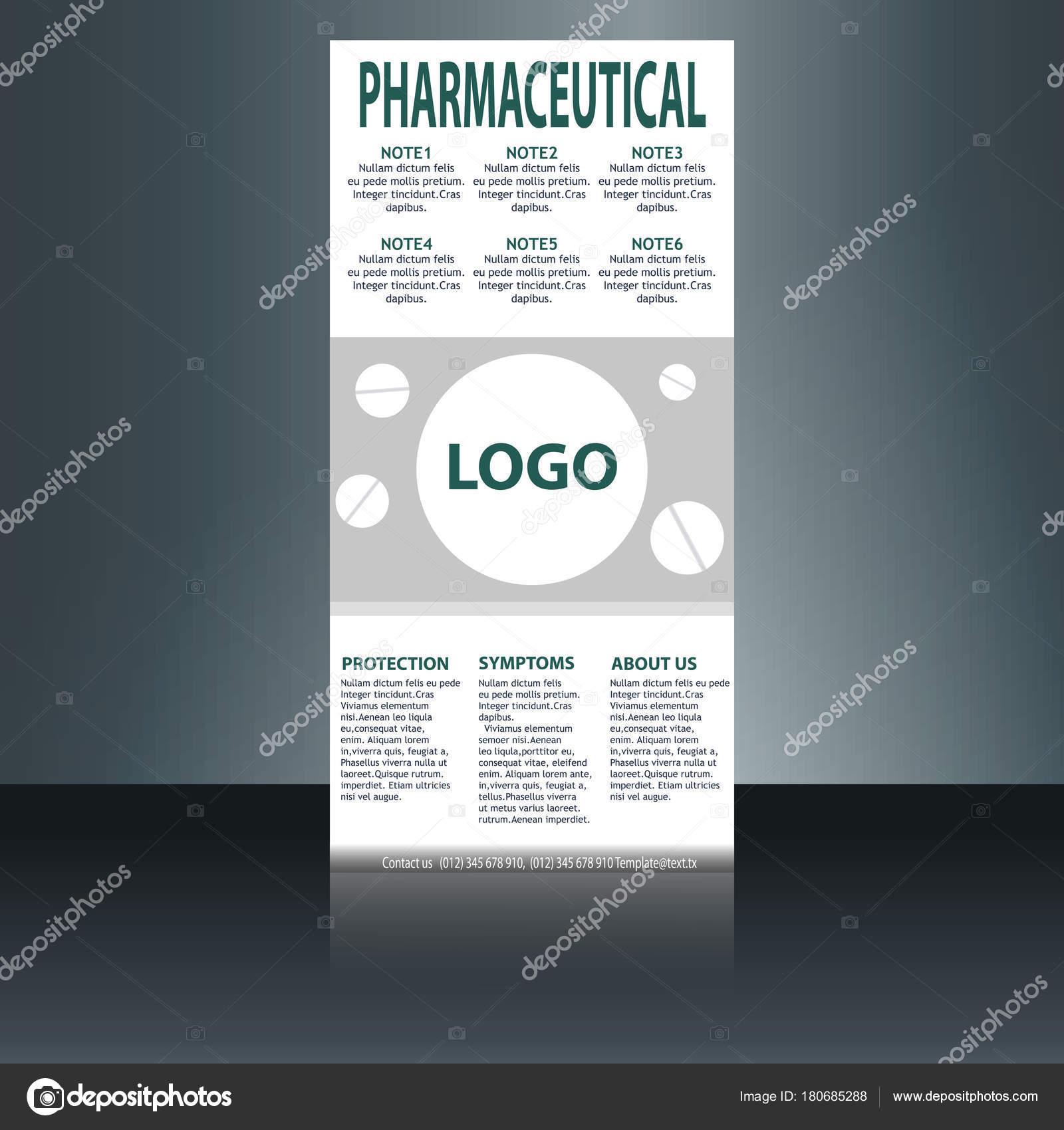 medical brochure flyer design template a4 size medical brochure template stock vector
