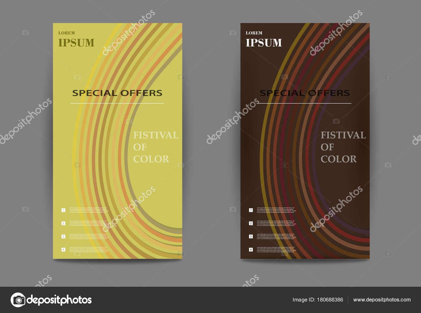 Carte De Visite Verticale Modele Dimpression Personnelle Avec Logo Lentreprise Couleurs Noires Et Jaunes Nettoyer Le Design Plat