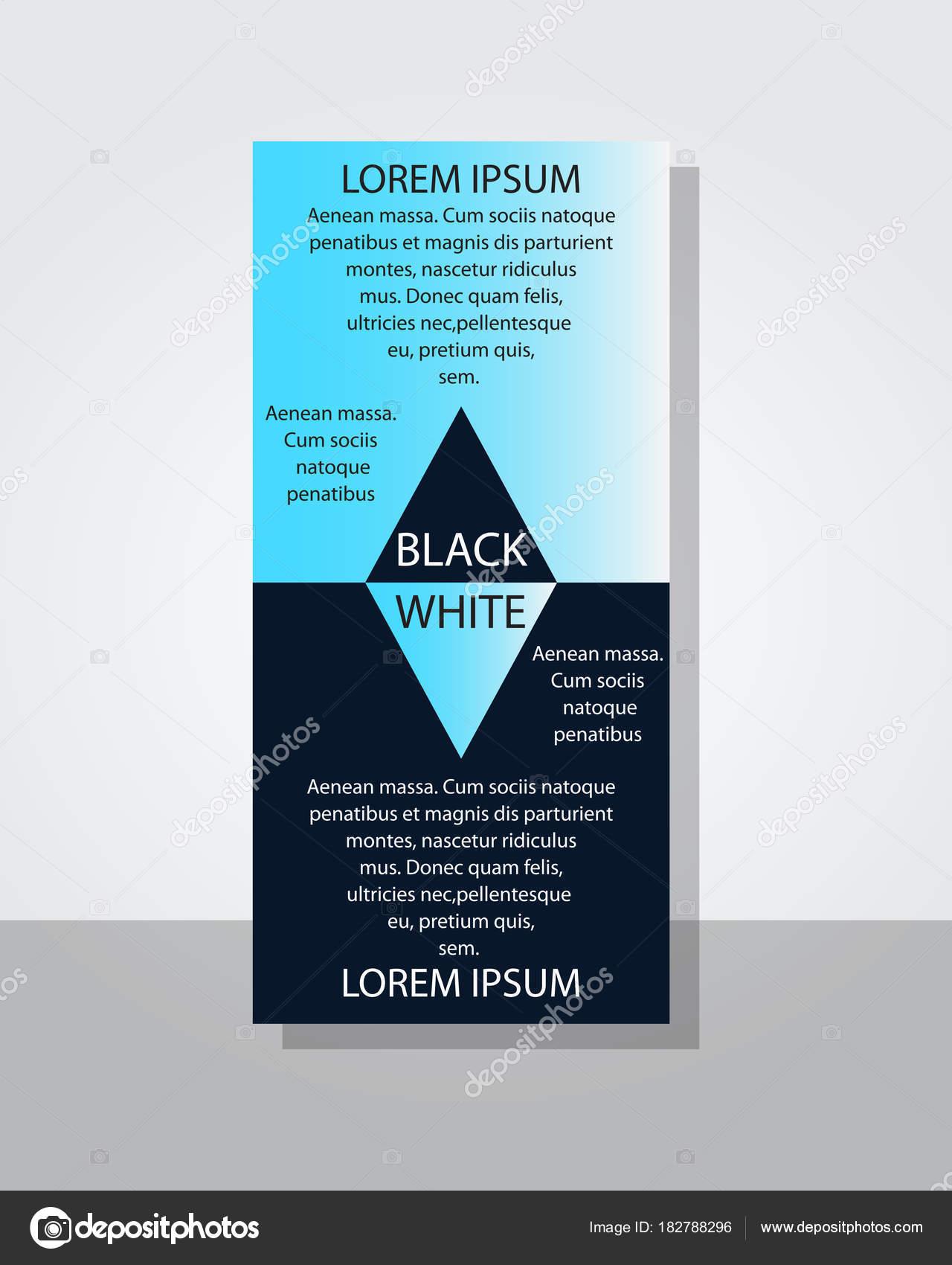 Plakat Flyer Broschüre Broschüre Cover gestalten Layout mit Kreis ...