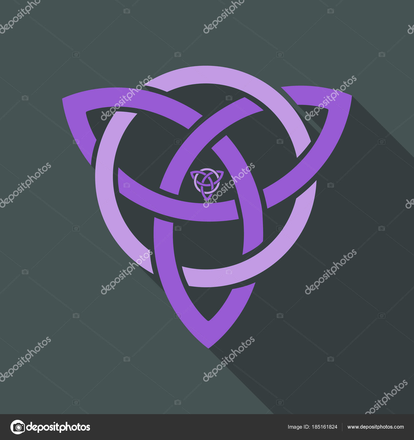 Celtic Trinity Knot Helm Of Awe Aegishjalmur Tattoo Scandinavian