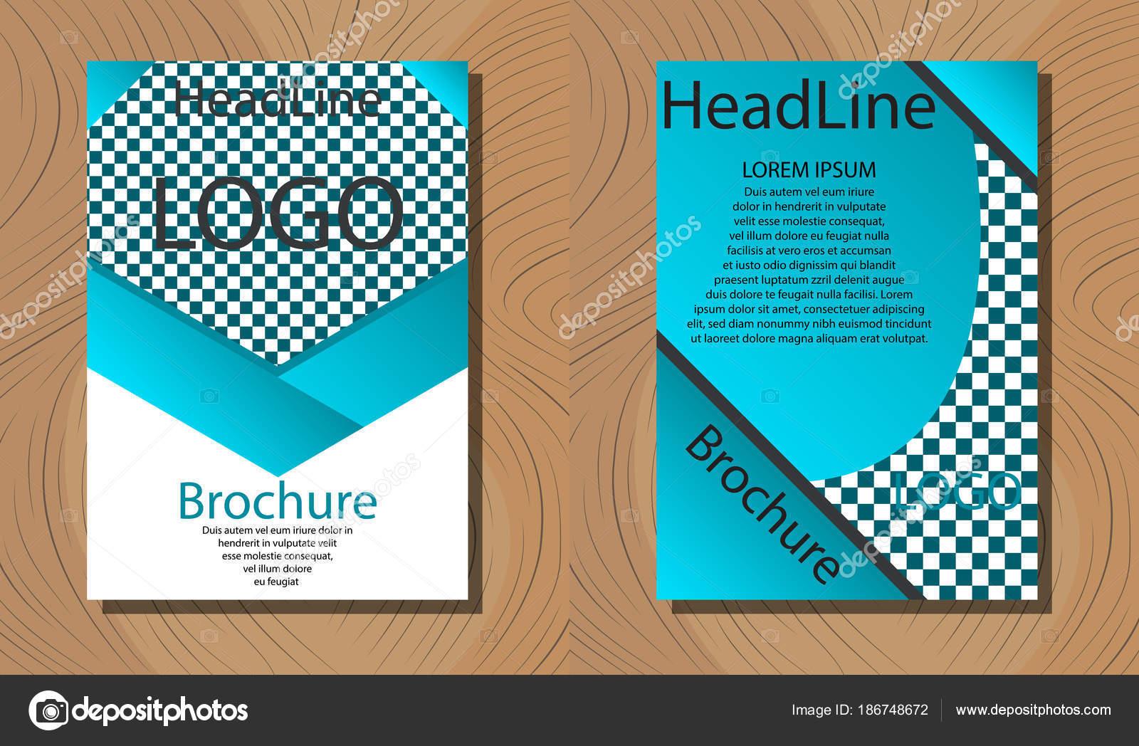 Plantilla folleto, triple creativo, diseño de folleto, folleto de ...