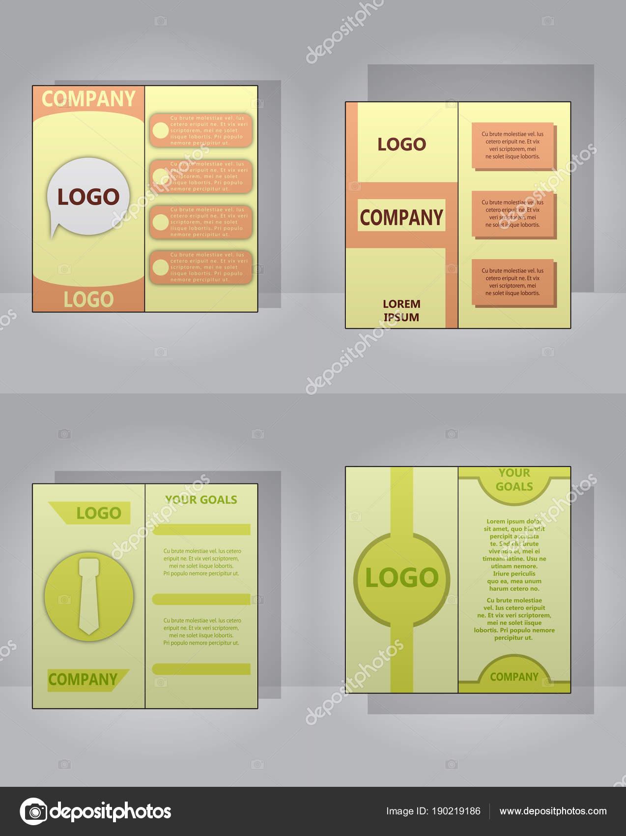 Jeux De Carte Visite Lumiere Moderne Modele Pour Entreprise Illustration Stock