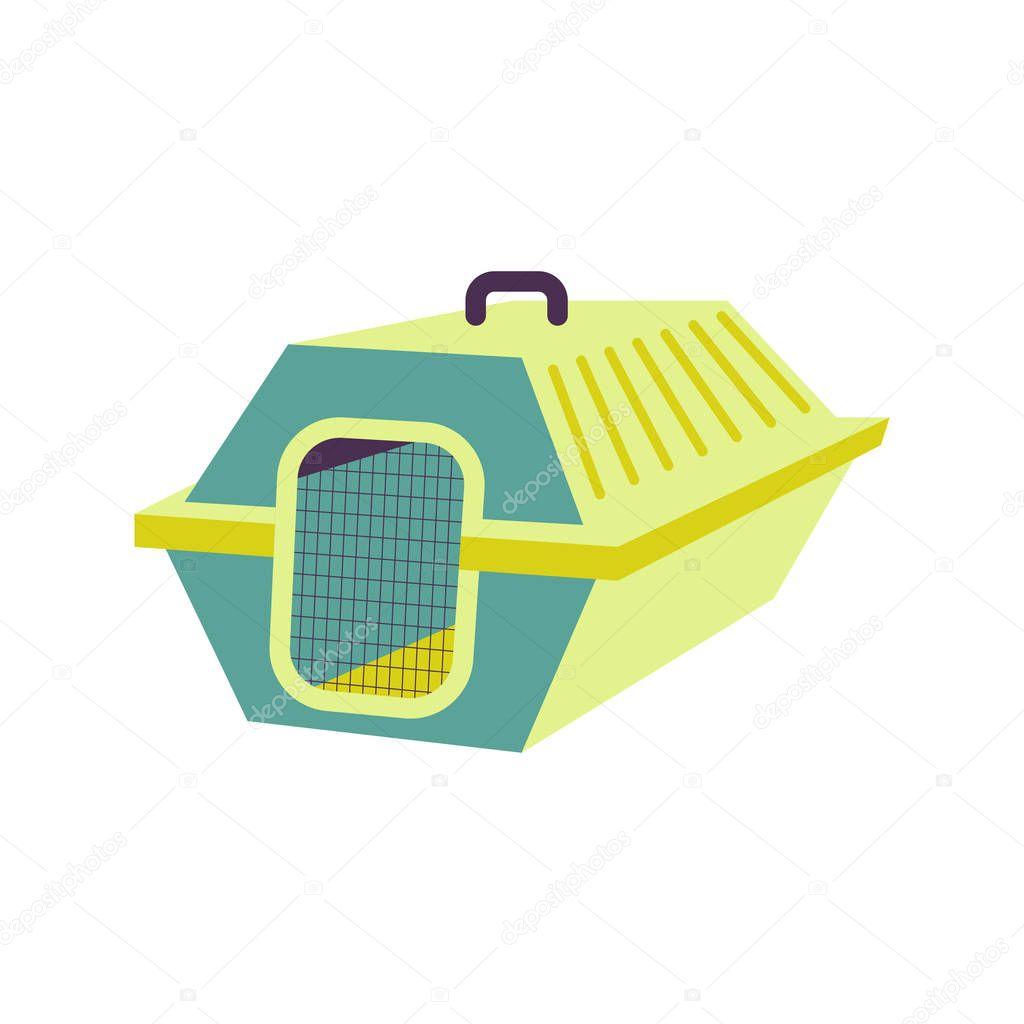 Flat icon pet shop