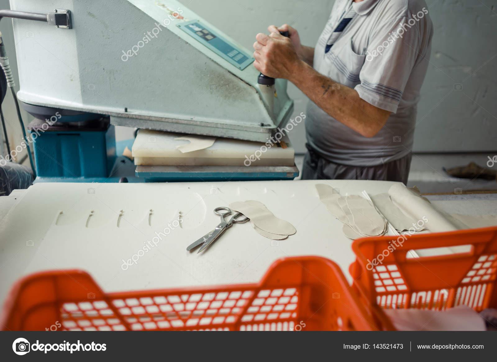 Shoemaking is the process of making footwear  — Stock Photo © alipko