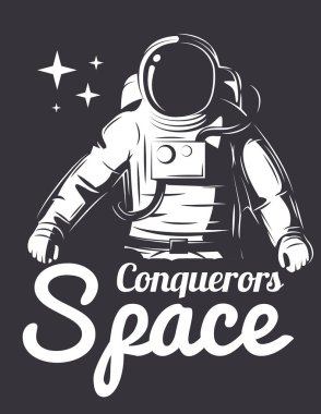 Astronaut Vector Illustration.