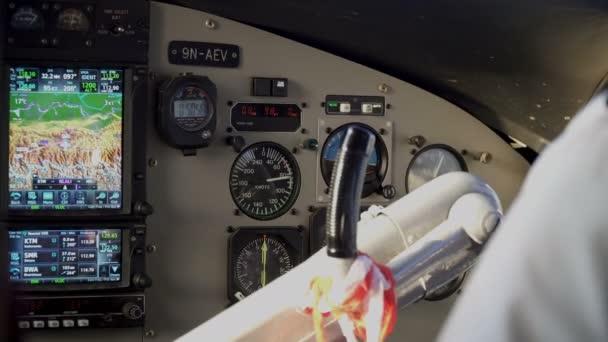 Kabinenpiloten im Flugzeug
