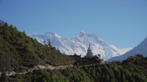 Turistická stezka do základního tábora Everestu
