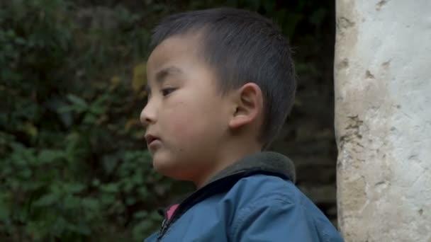 Portrait Of A Nepali Boy Stock Video Sergeyxsp 187475750
