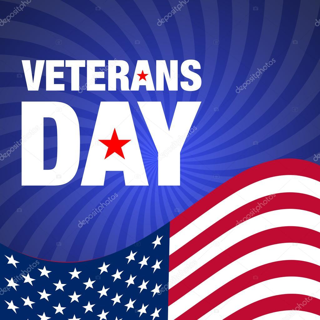 Veterans Day Greeting Card Background Stock Vector Nairi79