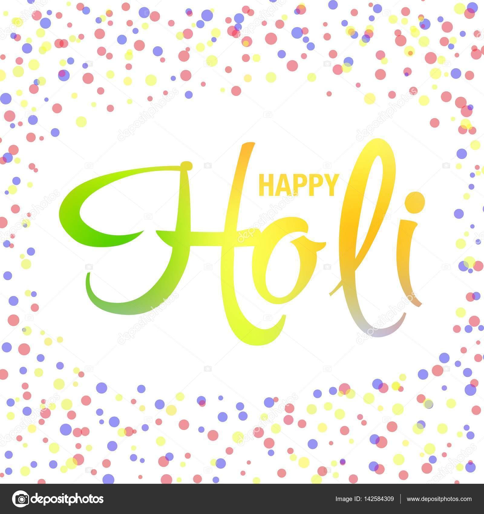 Happy holi greeting card stock vector nairi79 142584309 happy holi greeting card stock vector m4hsunfo