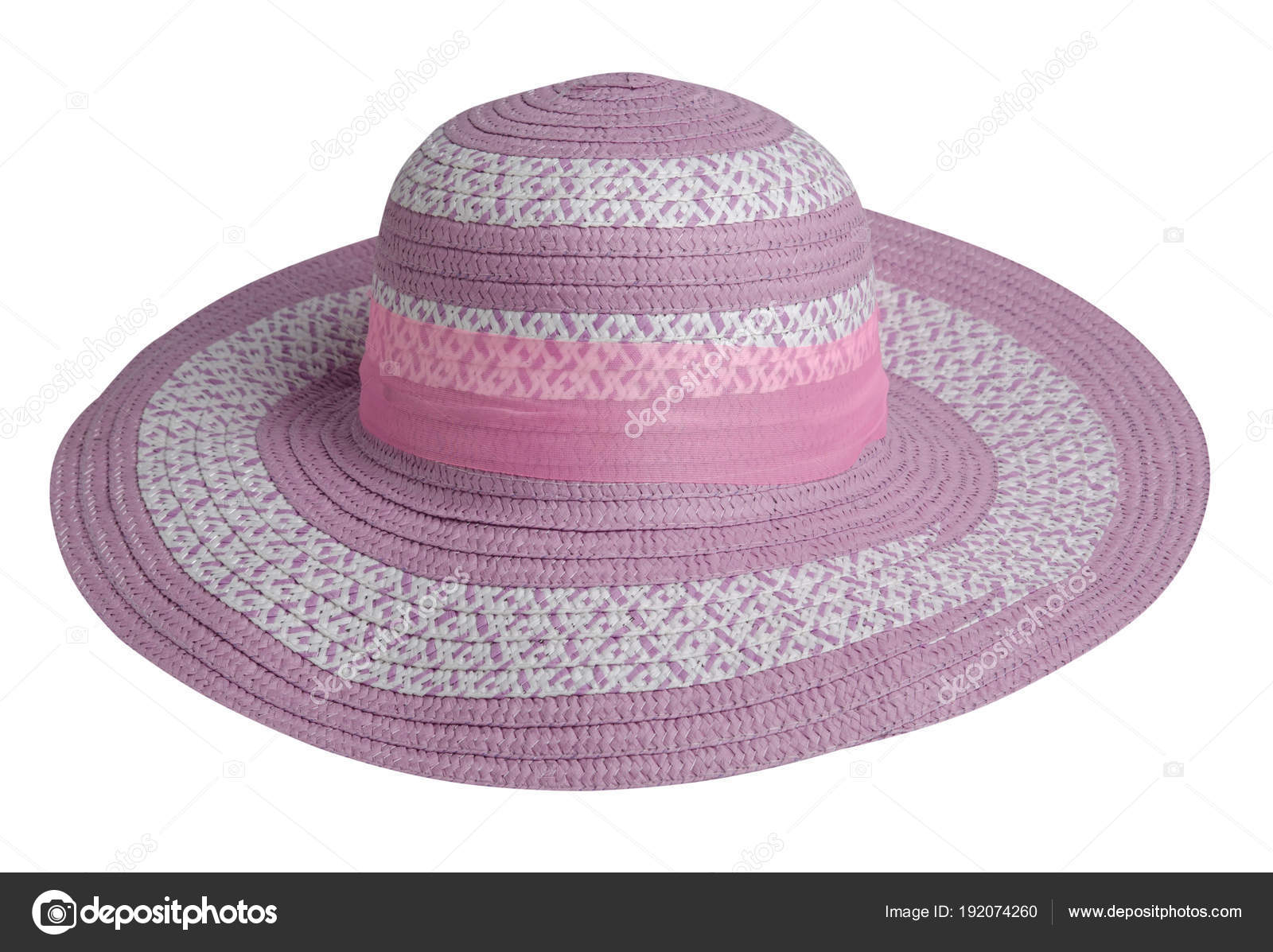 930274befe Γυναικείο καπέλο. πλεκτό καπέλο που απομονώνονται σε λευκό φόντο — Εικόνα  από Vitalily73