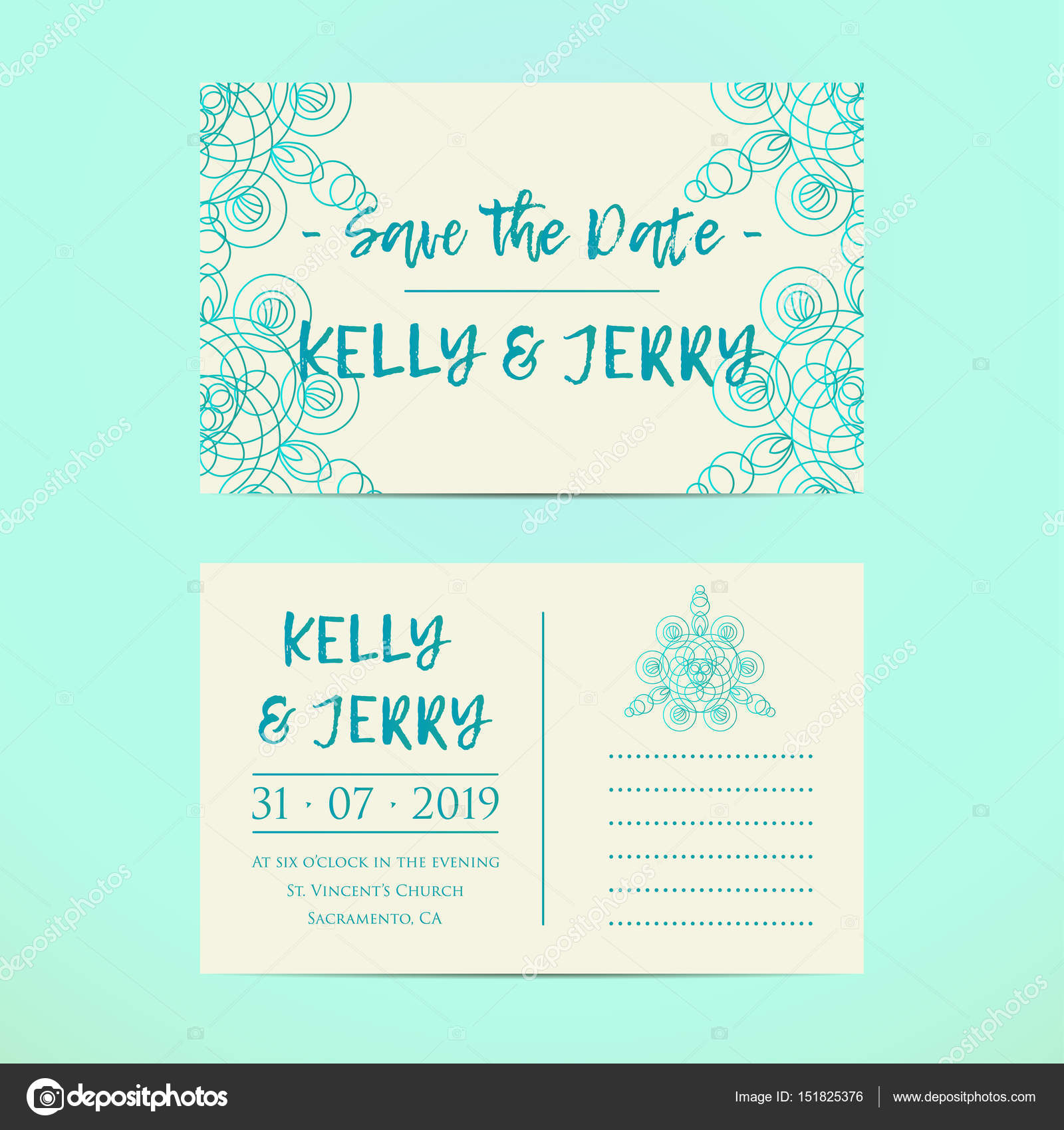 Vintage template design layout for wedding invitation wedding vintage template design layout for wedding invitation wedding invitation thank you card save stopboris Gallery
