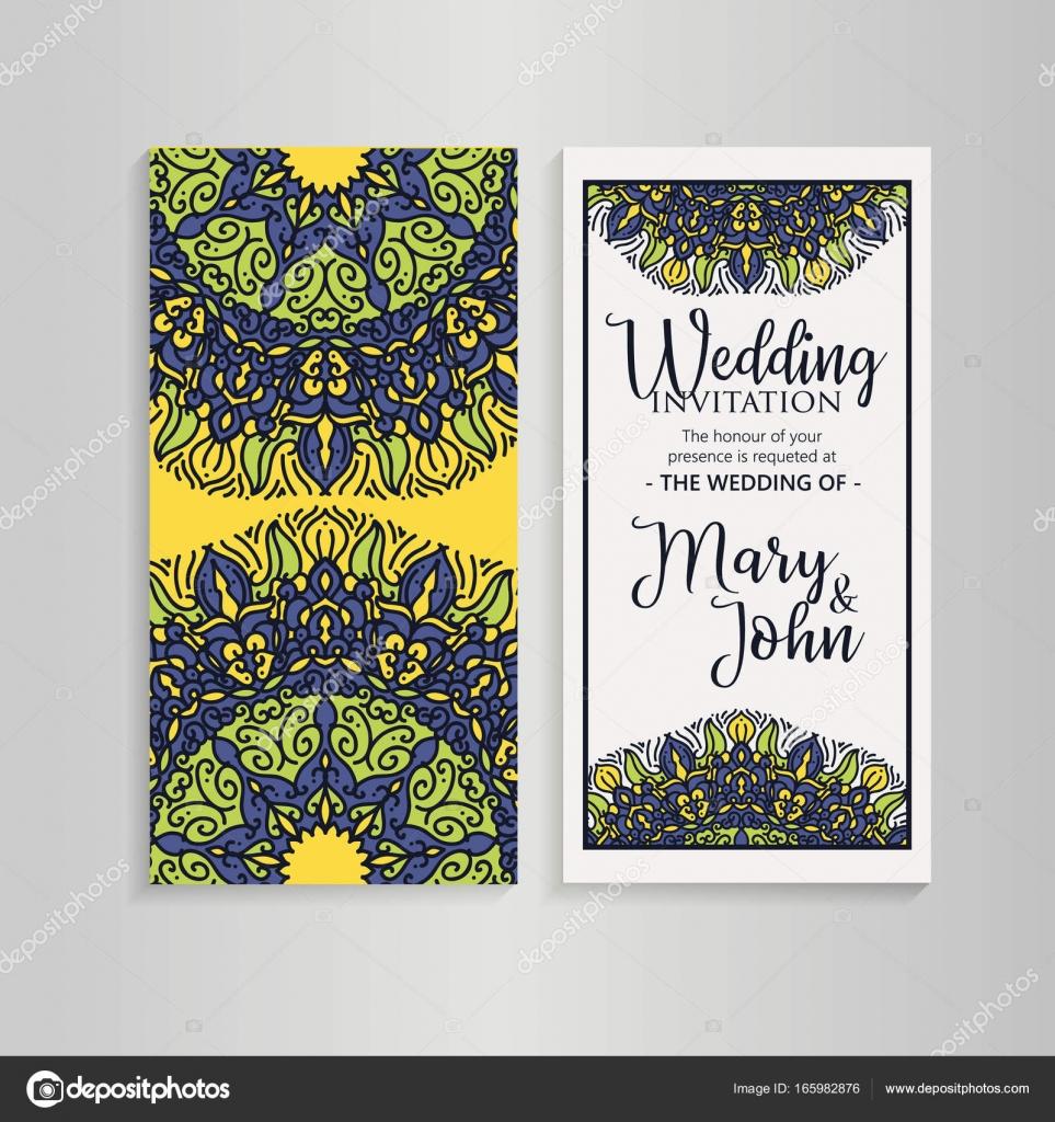 3ab78d5ec1 Vintage sablon design esküvői meghívó elrendezését. Esküvői meghívó,  üdvözlőlap-köszönet, kivéve a