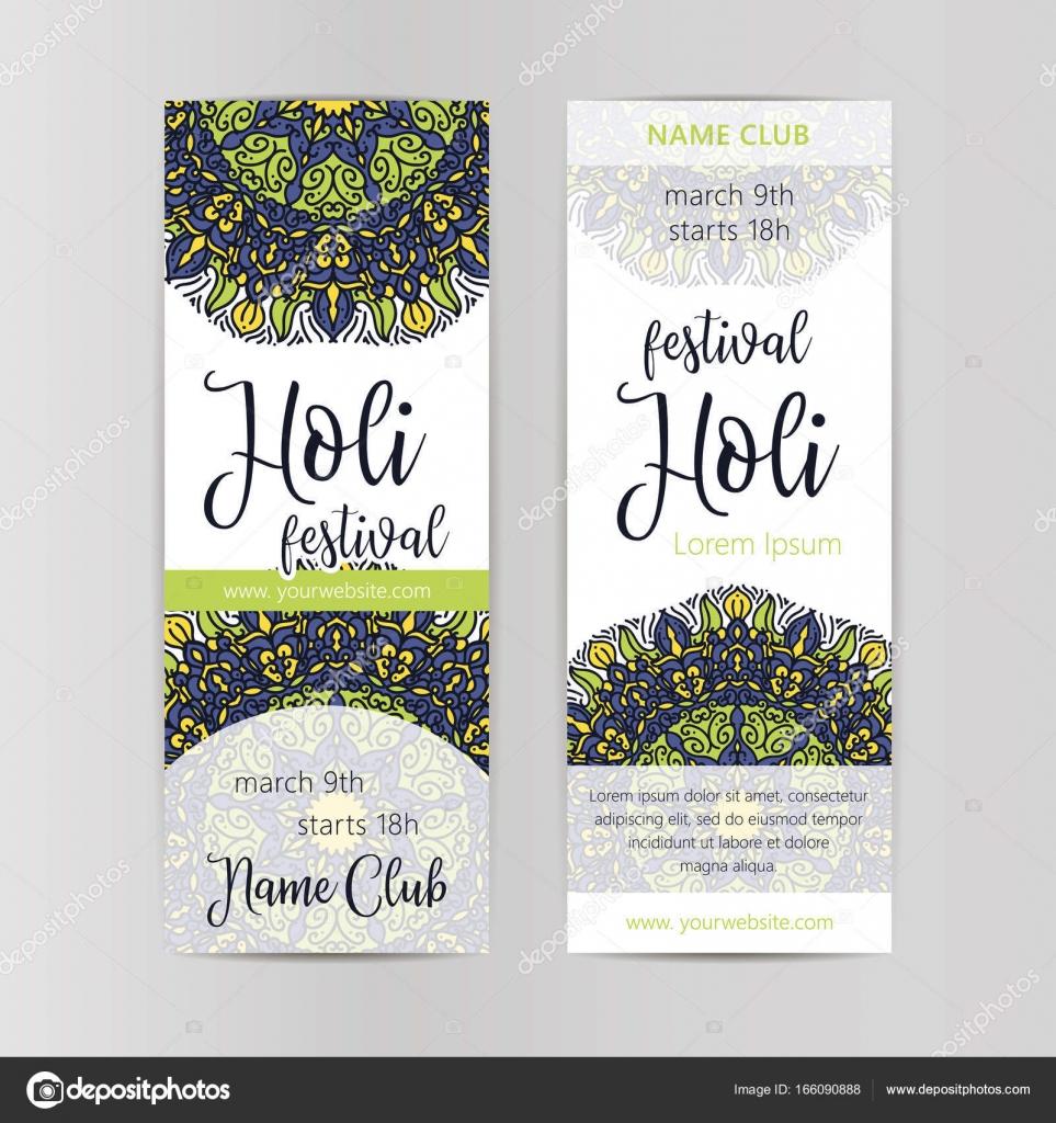 Diseño de folleto, cartel o folleto creativo para el Festival indio ...