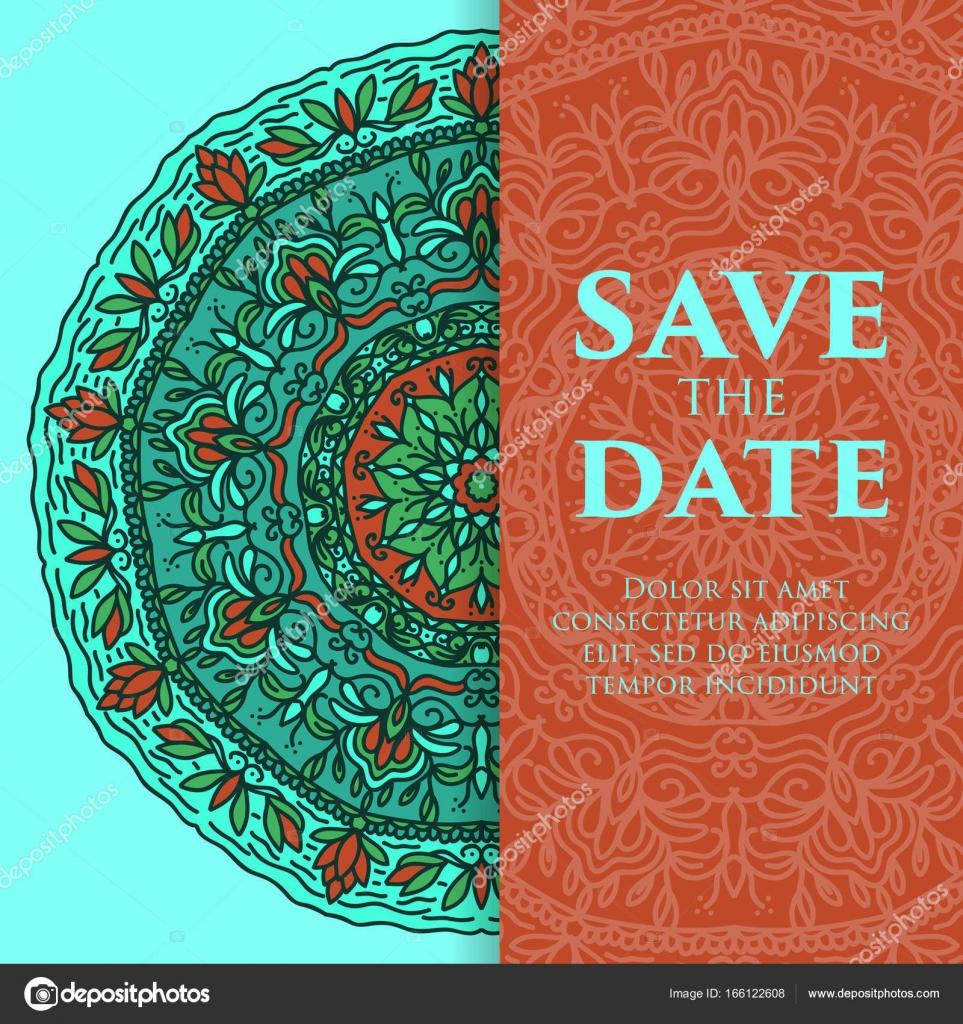 Vintage template design layout for Wedding invitation. Wedding ...