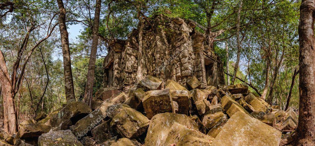 Beng Melea, Angkor, Cambodia